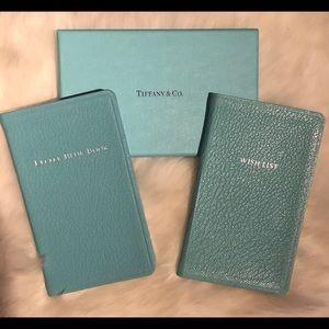Tiffany & Co. Wish List & Little Blue Book Set